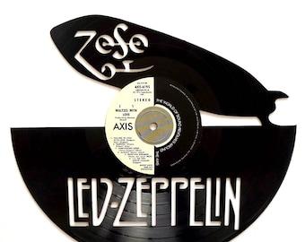 Led Zeppelin - Vinyl Record Art