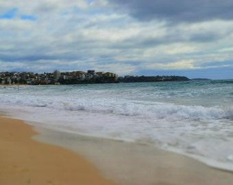Manly Beach Sydney Photography Print Sydney Beaches