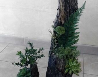 Wood sculpture, wood carving, vegetable carving, wood carving, plant design, green