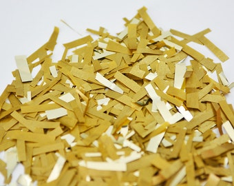 Gold Confetti, Gold Holiday Confetti, Gold Wedding Confetti, Gold Christmas Confetti, Gold Party Confetti, Baby Shower Confetti