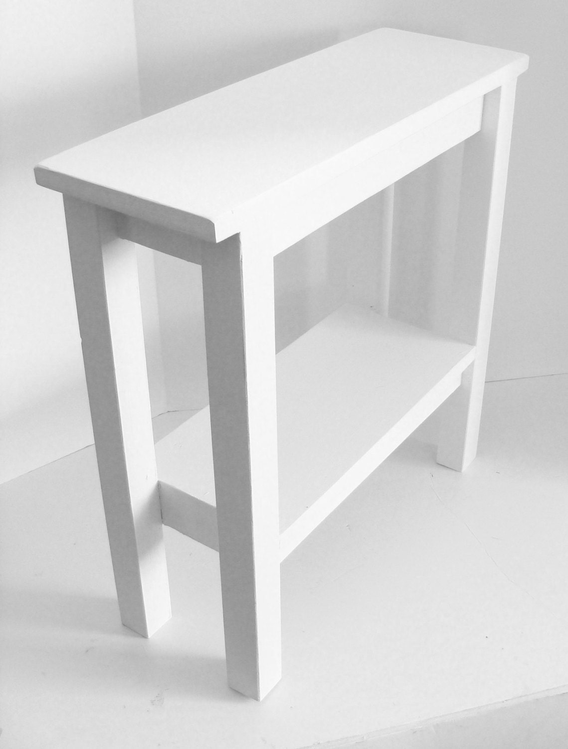 Modern Narrow Table End Table Side Table Narrow Table