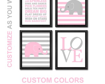 elephant baby shower girl, baby girl gift, elephant nursery, girl playroom rules, elephant baby girl, elephant baby gift, baby gifts