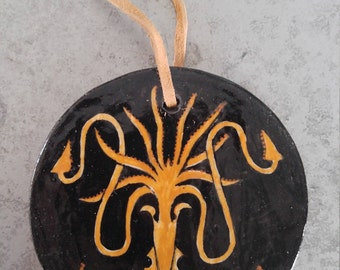 House Greyjoy hand painted ornament - We Do Not Sow