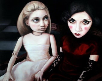 "Dollhouse print 16"" x 16"""