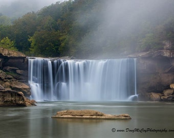 Early Morning at Cumberland Falls State Park. #0080