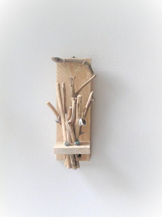 Arbre à bijoux bois flotté porte photos arbre à messages