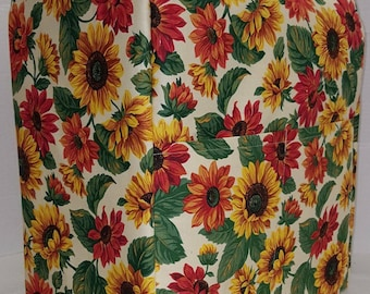 Sunflowers KitchenAid Stand Mixer Cover w/Pockets (5 Options Available)