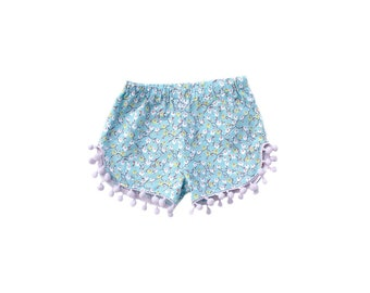 PomPom shorts Pattern | PDF pattern | Baby sewing pattern | Sewing Pattern | Shorts Pattern | PDF sewing patterns | Instant download