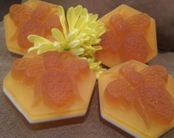 Milk and Honey Soap Luxury and Healing bee soap