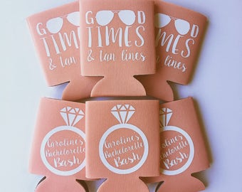 Good Times and Tan Lines Summer Beach Bachelorette Party favors