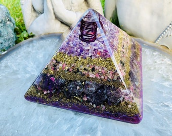 Orgonite® Orgone Pyramid (Large) - Soothe and Comfort - FREE WORLDWIDE SHIPPING!