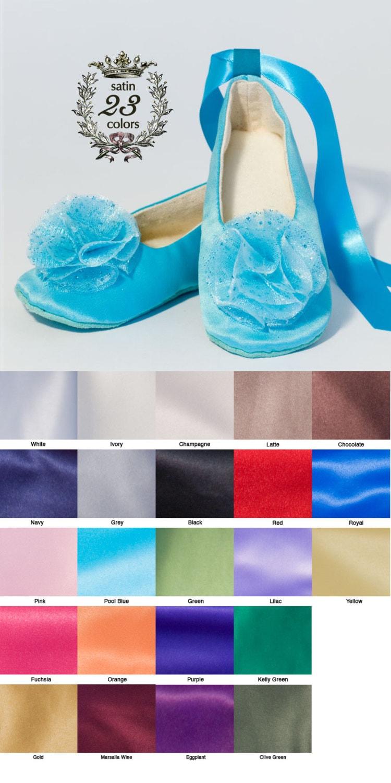 Pool Blue Satin Flower Girl Shoe Robin Egg Blue Toddler