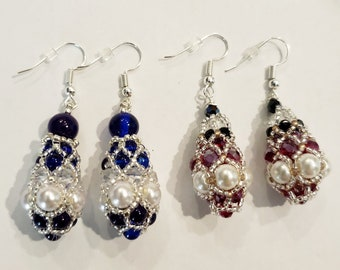 Royal Pendulum Earrings - MADE TO ORDER