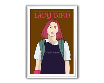 Lady Bird movie poster version 2 in various sizes