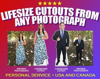 "Custom Cardboard Cutouts 72"""