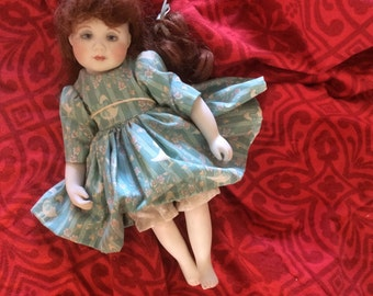 Unique doll, beautiful doll, gift, vintage