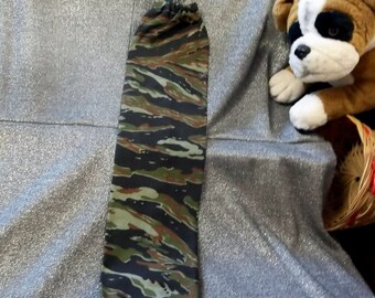 Plastic Bag Holder Sock, Camouflage Print