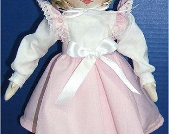 Judi Ward Original Design - Babyland Rag ~ Cloth Rag Doll  Making E-Pattern - Download Sewing Pattern