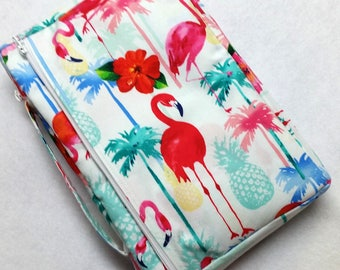 Bible Cover Custom Fit Flamingos Your Bible Measurements Required