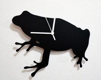 Frog Silhouette - Wall Clock