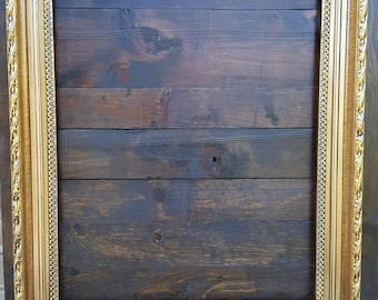 Classic compo ornate wood frame,gold frame, wood picture frame, wedding frame, portrait frame, custom picture frame, gold metal leaf