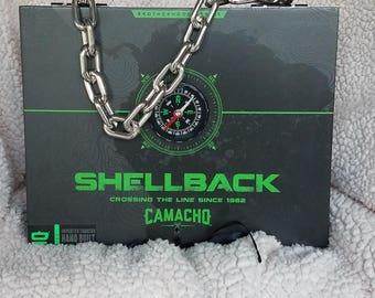 Cigar Box Purse Shellback (chain)