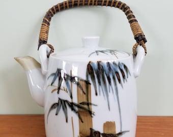 Vintage Teapot Hand Crafted Otagiri Original Japan Ceramic