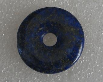 Large Lapis Stone Donut 24mm