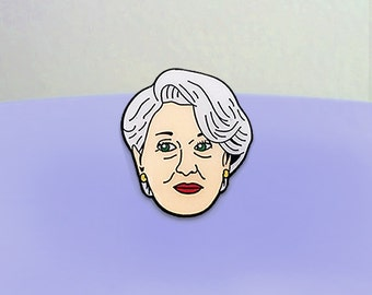 Meryl Streep in Devil Wears Prada Enamel Pin