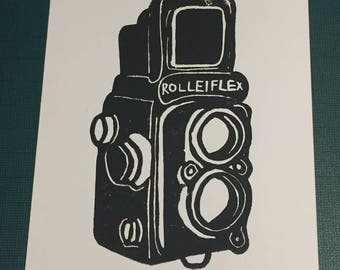 Vintage Camera Card