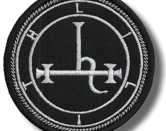 Sigil of Lilith - embroidered patch, 8x8 cm