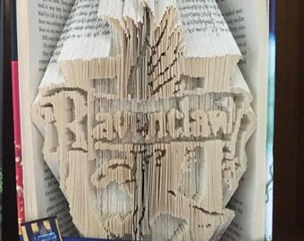 Harry Potter Ravenclaw / Harry Potter Bookfold / Harry Potter Gift