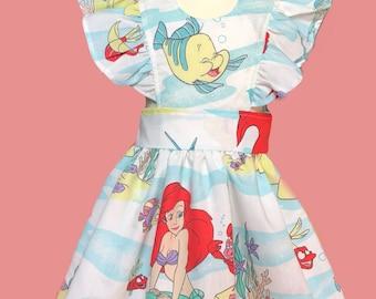 Little Mermaid pinafore dress