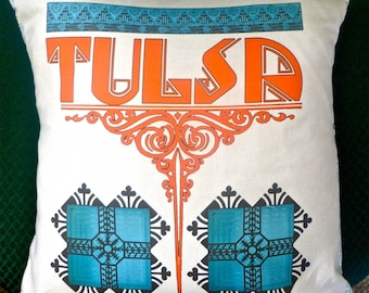 Tulsa Deco ARCO Pillow Cover