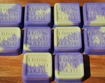 BULK x 100 - Handmade Soaps - Lavender & Honey