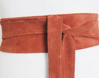 Suede Belts