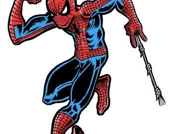 FKN RAD Spidey Jerk Spider-Man Circle Jerks Mash Up Acrylic lapel pin 1 of 50 made signed