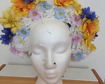 Puffy Flower Crown
