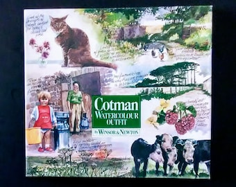 Cotman Watercolour No. PB3 Outfit by Winsor & Newton - New