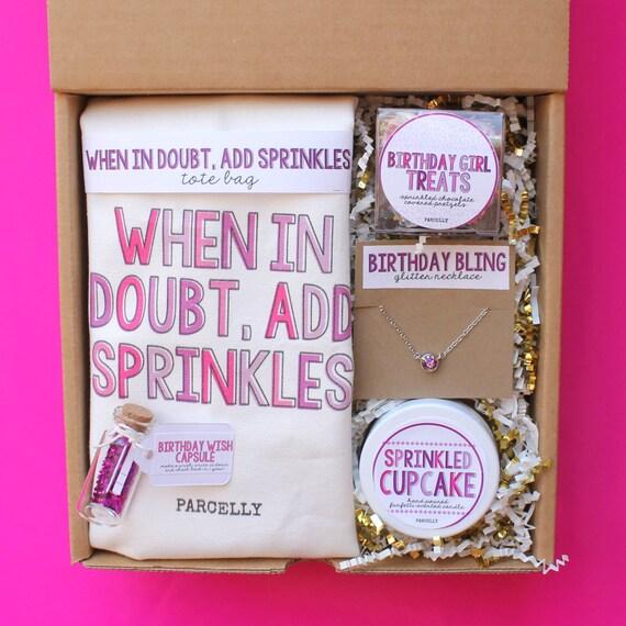 Best Friend Birthday Gift. Birthday Gift Basket. Birthday Box
