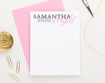Personalized stationery // Personalized stationary // Personalized Thank you cards // personalized note cards // thank you note cards, PS015