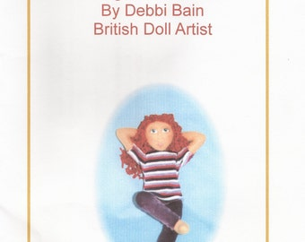 Teen Doll E-Pattern PDF Digital download