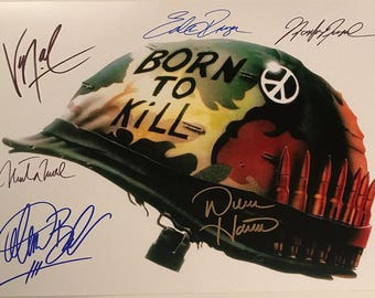Signed Full Metal Jacket 8 x 10 Photo