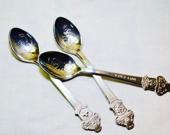 Butcher of Switzerland Silver Rolex Spoons, Rolex Spoon, Rolex, Silver Spoon, Collector Spoon, Stamped Spoon, Gift For Dad, Gift For Him
