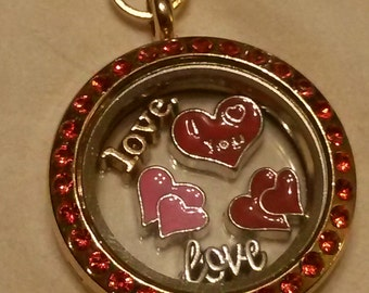 Love is all it's about locket
