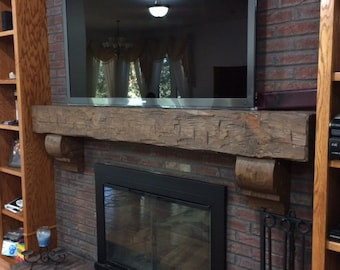 rustic fireplace mantels. Fireplace Mantel Rustic 6 Foot Hand Hewn Solid Pine 72\ Mantels