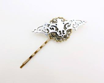 Bat Hair Pin, Bat Hair clip