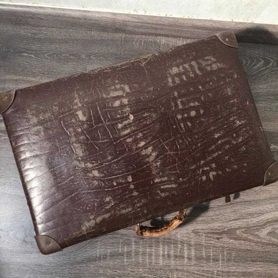 Alter Koffer Deko alter koffer 40er jahre shabby chic vintage dekoration