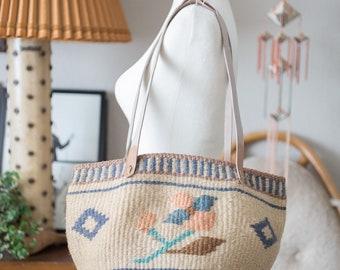 Natural fiber woven Tote / Bag / Purse