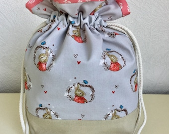Knitters /Crafters Project Bag - Beatrix Potter collection